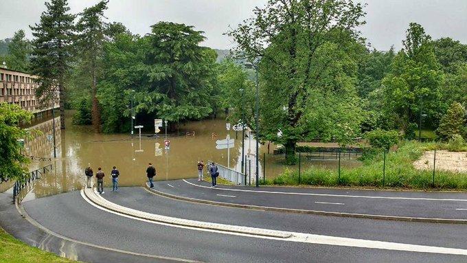 inondations à Bures-sur-Yvette