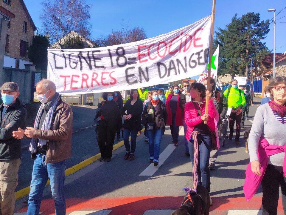 Marche climat du 7 avril 2021 entre Orsay et Palaiseau